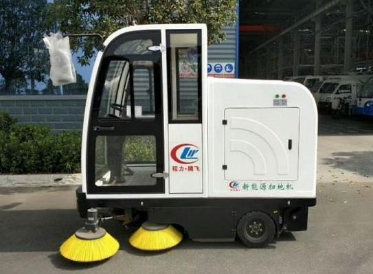 程力新能源扫地机
